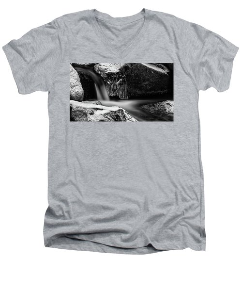 soft and sharp at the Bode, Harz Men's V-Neck T-Shirt by Andreas Levi