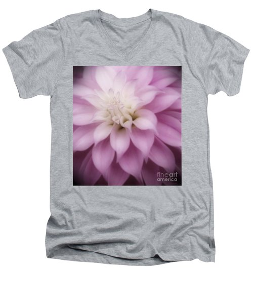 Soft Dahlia  Men's V-Neck T-Shirt
