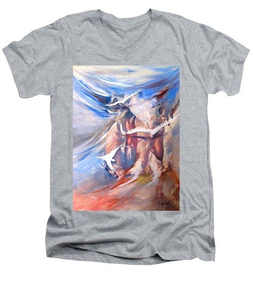 Soft Flight 2 Men's V-Neck T-Shirt