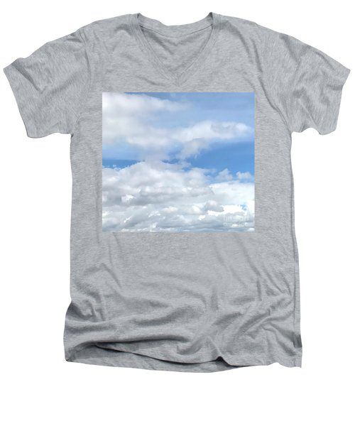 Soft Heavenly Clouds Men's V-Neck T-Shirt