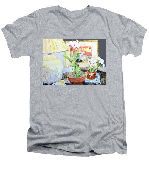 Soft Light Men's V-Neck T-Shirt
