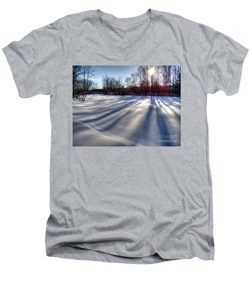 Soft Shadows Men's V-Neck T-Shirt