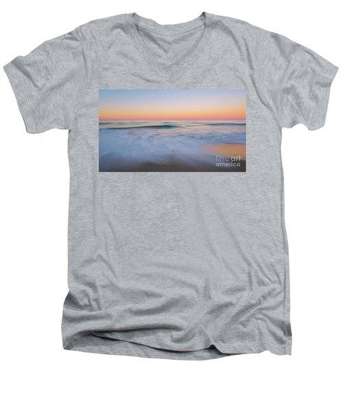 Soft Sunset  Men's V-Neck T-Shirt