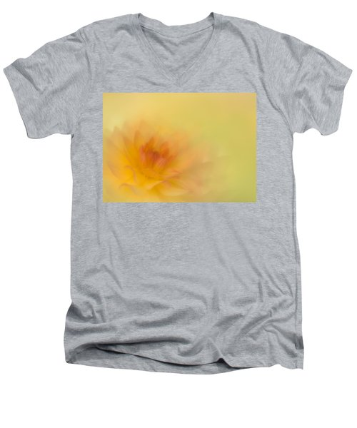 Soft Gold Men's V-Neck T-Shirt