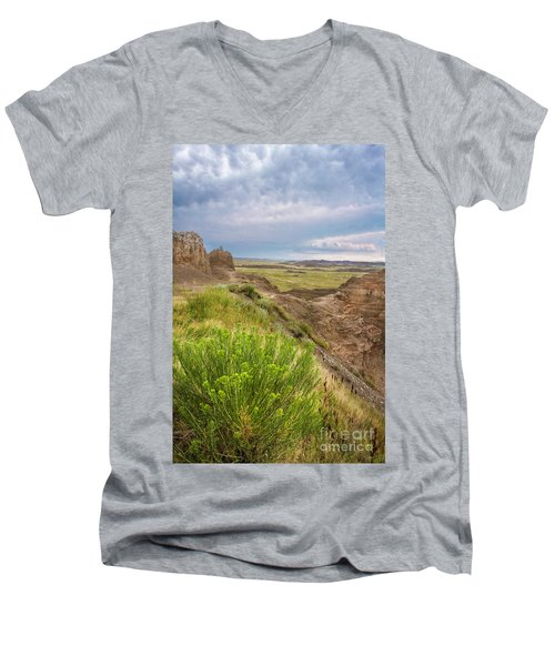 Softly Rumbling Sky Men's V-Neck T-Shirt
