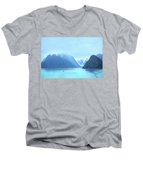 Men's V-Neck T-Shirt featuring the photograph Sojourn by John Poon