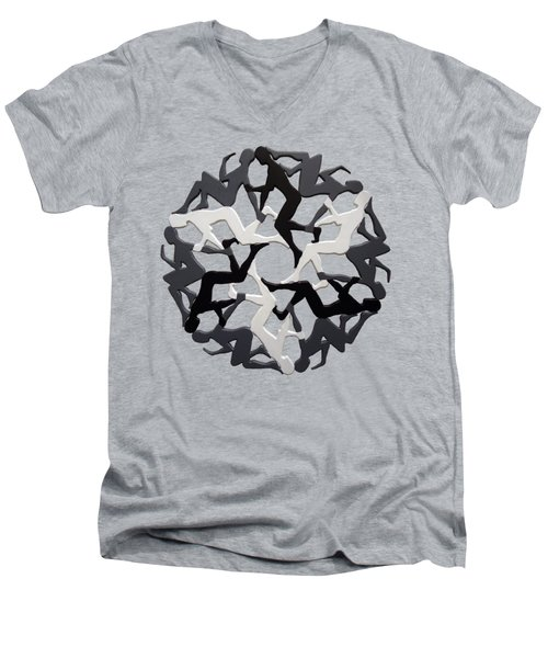 Sol 6 Men's V-Neck T-Shirt