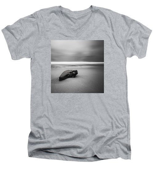 Men's V-Neck T-Shirt featuring the photograph Solace I by Ryan Weddle