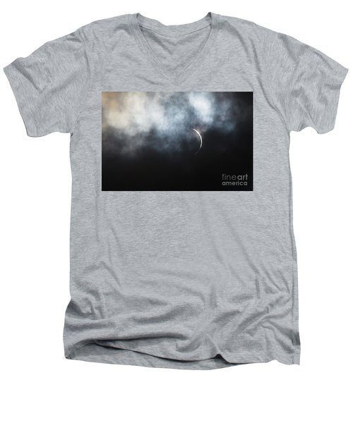 Solar Eclipse Men's V-Neck T-Shirt
