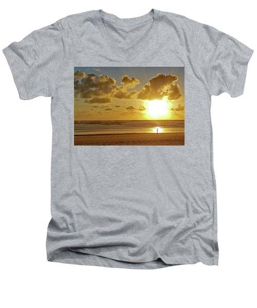 Solar Moment Men's V-Neck T-Shirt