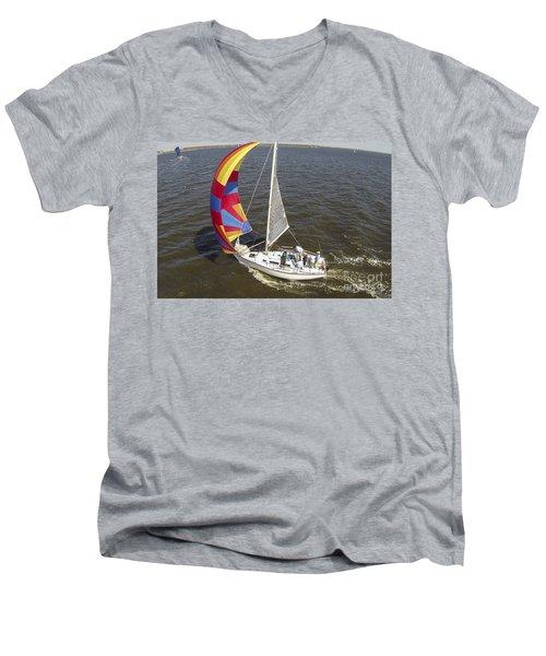 Sole Vento Charleston South Carolina Men's V-Neck T-Shirt