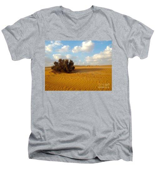 Solitary Shrub Men's V-Neck T-Shirt