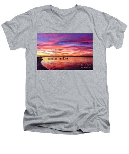 Solitude Men's V-Neck T-Shirt