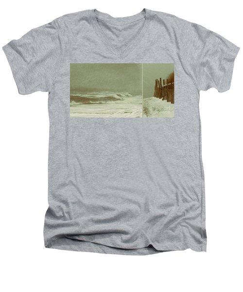 Solitude Is Deafening Men's V-Neck T-Shirt