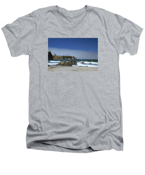 Men's V-Neck T-Shirt featuring the photograph Solitude by Tom Kelly