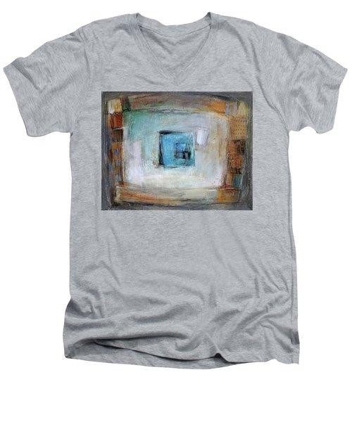 Solo Men's V-Neck T-Shirt by Behzad Sohrabi