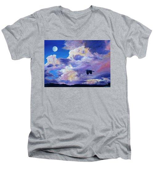 Solo Flight Men's V-Neck T-Shirt