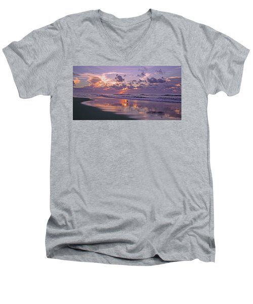 I Remember You Every Day  Men's V-Neck T-Shirt by Betsy Knapp