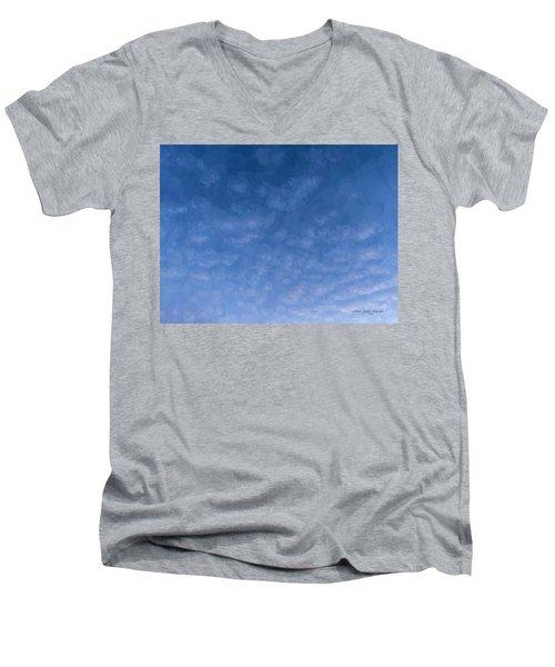 Solstice Dawn Men's V-Neck T-Shirt