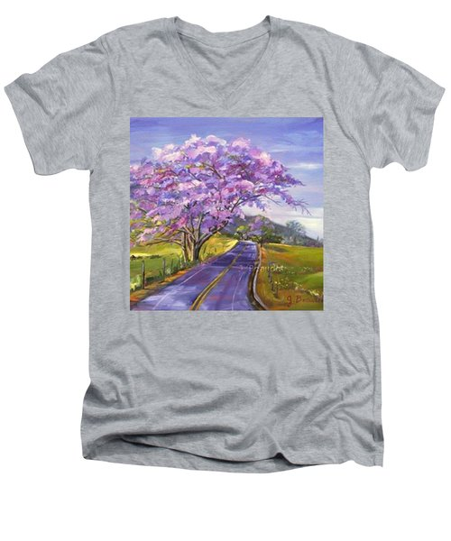Some More #hawaii Dreaming... This Men's V-Neck T-Shirt by Jennifer Beaudet