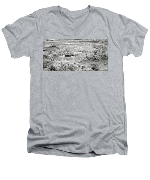 Somewhere In Vinales Men's V-Neck T-Shirt by Eduard Moldoveanu