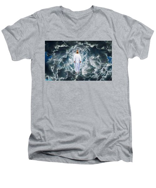 Son Of Man Men's V-Neck T-Shirt