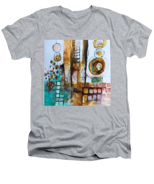 Song Men's V-Neck T-Shirt by Karin Husty