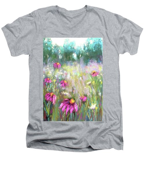 Song Of The Flowers Men's V-Neck T-Shirt