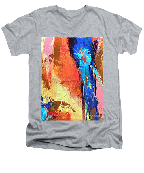 Song Of The Water Men's V-Neck T-Shirt