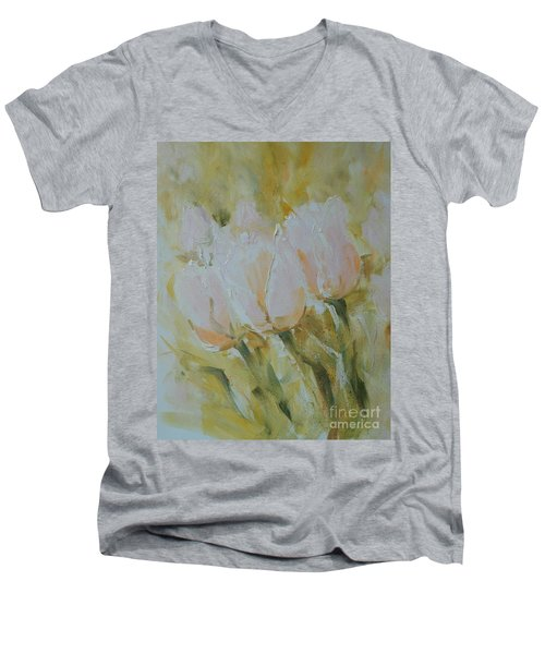 Sonnet To Tulips Men's V-Neck T-Shirt
