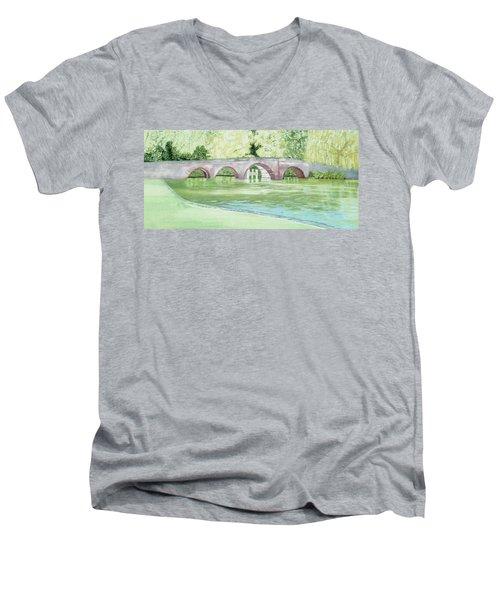 Sonning Bridge Men's V-Neck T-Shirt