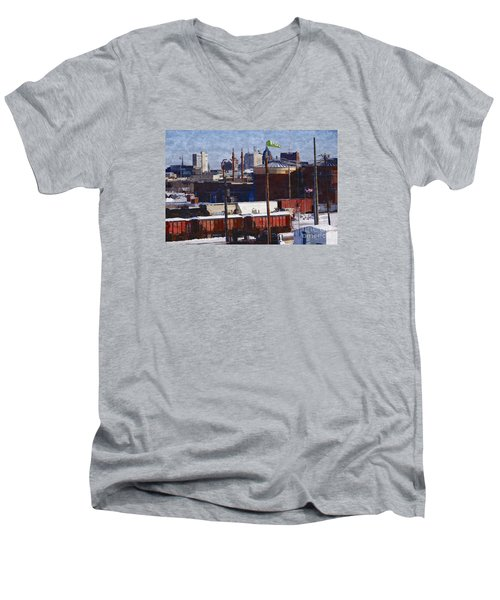 Soo Line Men's V-Neck T-Shirt