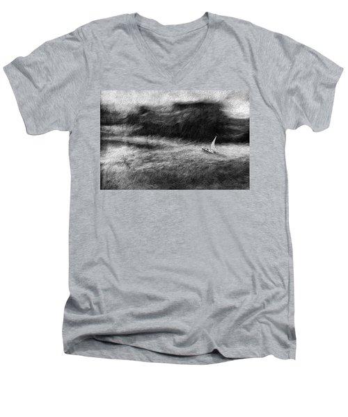 SOS Men's V-Neck T-Shirt