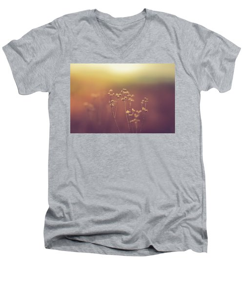 Men's V-Neck T-Shirt featuring the photograph Souls Of Glass by Shane Holsclaw
