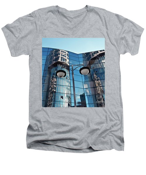 Sound Of Glass Men's V-Neck T-Shirt