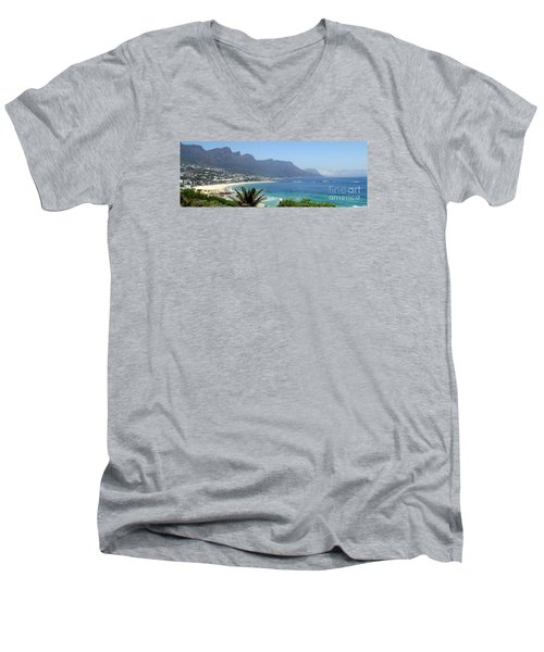 South Africa Coast Men's V-Neck T-Shirt
