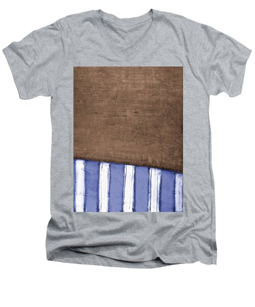 Art Print South Beach Men's V-Neck T-Shirt