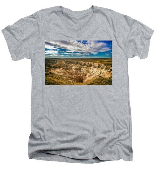 South Dakota Bad Lands.... Men's V-Neck T-Shirt