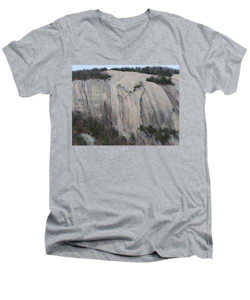 South Face - Stone Mountain Men's V-Neck T-Shirt