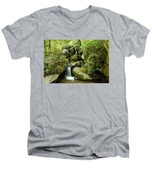 South Mountains Rest Stop Men's V-Neck T-Shirt