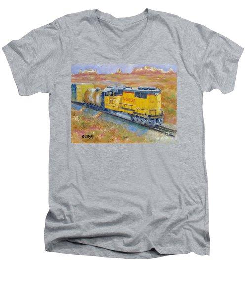 South West Union Pacific Men's V-Neck T-Shirt