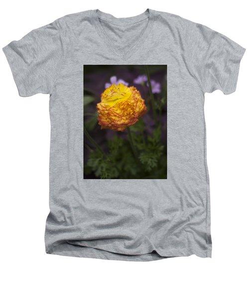 Southern Belle Men's V-Neck T-Shirt by Morris  McClung
