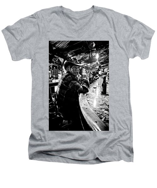 Southern Dude Men's V-Neck T-Shirt