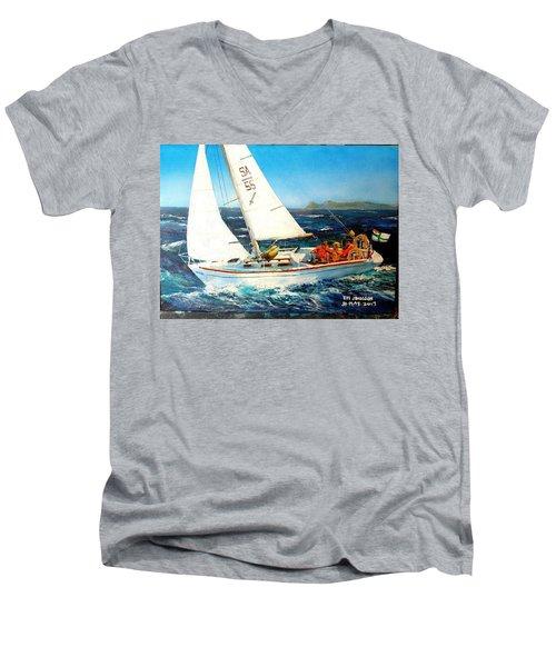 Southern Maid Men's V-Neck T-Shirt