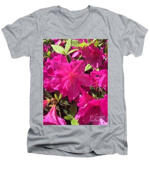 Southern Pink Men's V-Neck T-Shirt