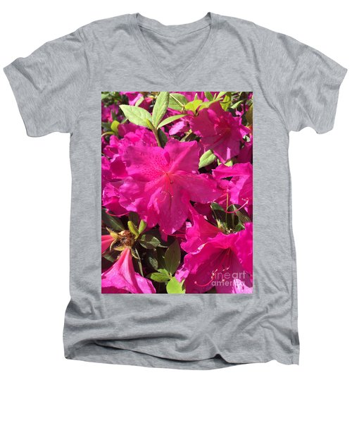 Southern Pink Men's V-Neck T-Shirt