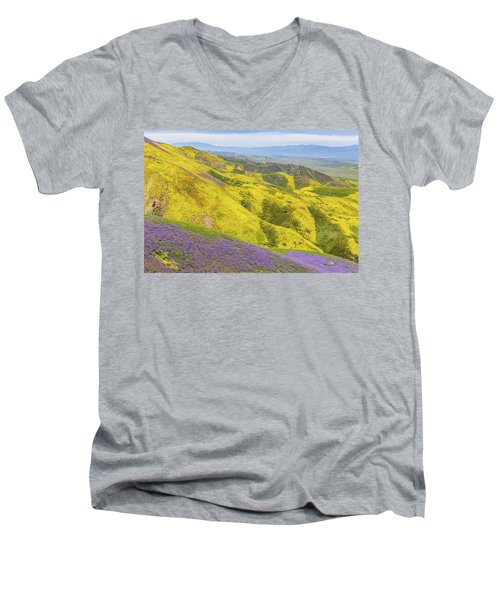 Men's V-Neck T-Shirt featuring the photograph Southern View by Marc Crumpler