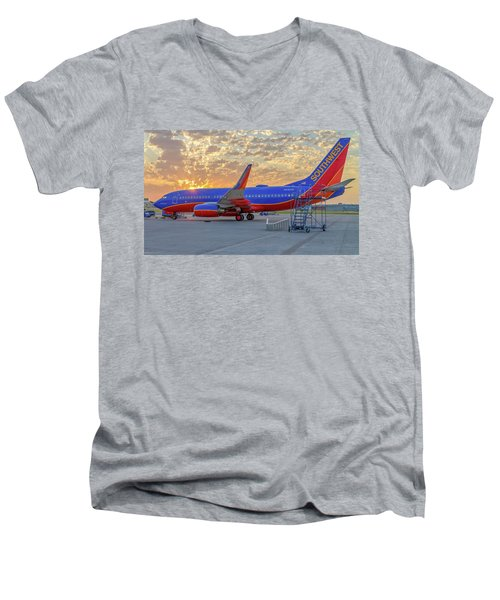 Southwest Airlines - The Winning Spirit Men's V-Neck T-Shirt