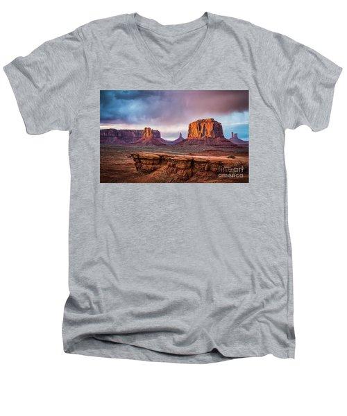 Southwest Men's V-Neck T-Shirt