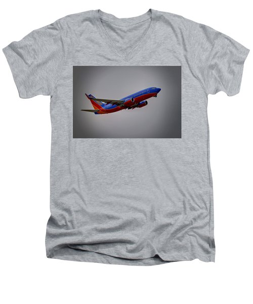 Southwest Departure Men's V-Neck T-Shirt